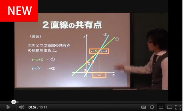 直線の方程式3